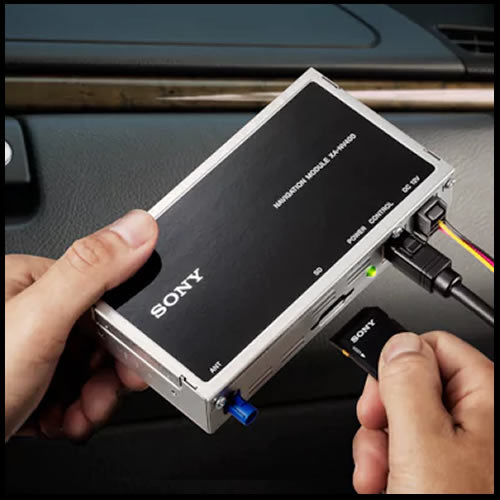 SONY Plug-in Car Navigation Module XA-NV400