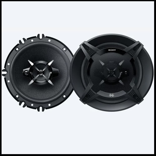 "SONY 6""1/2  3-Way Speakers XS-FB1630"
