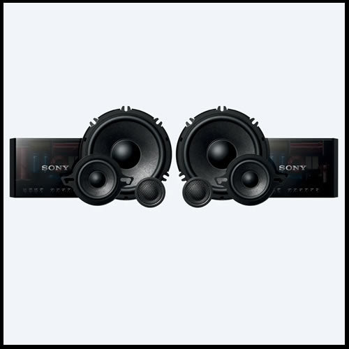"SONY 6 ½""  3-way Component Speakers XS-GS1631C"