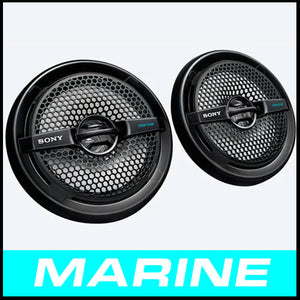 SONY 6.5 in Dual-Cone Marine Speaker XS-MP1611B