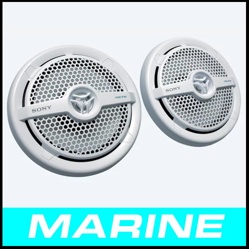 SONY 6.5 in 2-Way Coaxial Marine Speaker XS-MP1621