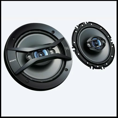 "SONY 6""1/2  4-way Speakers XS-R1645"