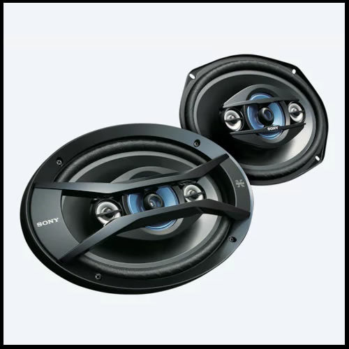 SONY 4 x 6 in  4-way Speakers XS-R4645
