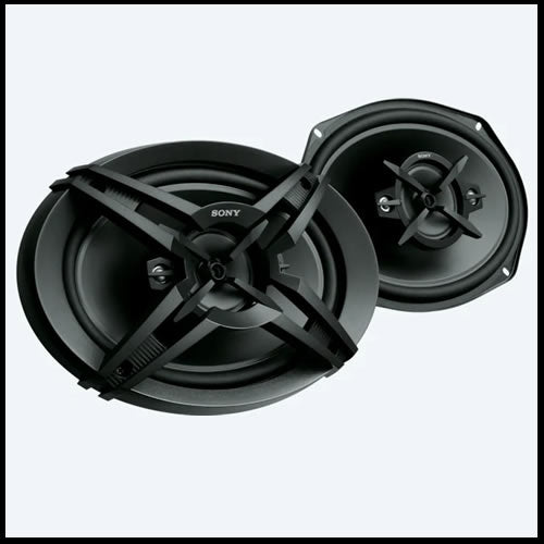 "SONY 6"" x 9"" 4-way speakers XS-R6946"