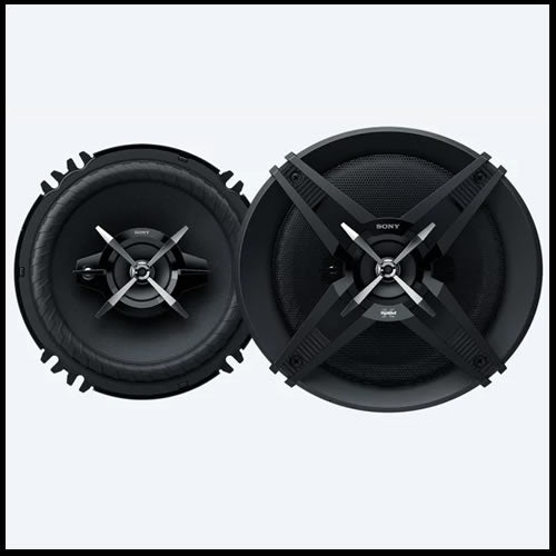 "SONY 6""1/2  High Power 3-way Speakers XS-XB160"
