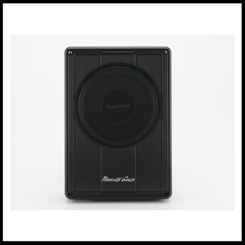 Phoenix Gold 8 Slim Active Bass Enclosure Z8150 Audio
