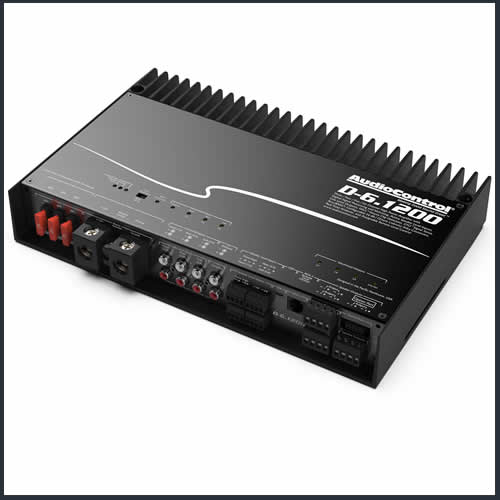 AUDIO CONTROL D-6.1200 Powered Amplifier