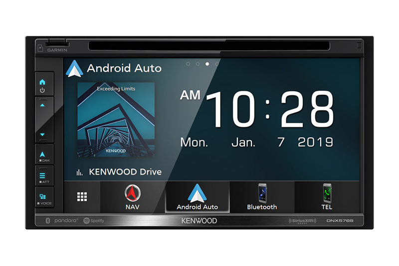 DNX576S Navigation DVD Receiver with Bluetooth