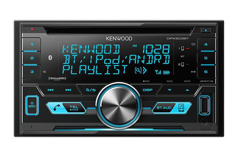 DPX503BT  2-DIN CD Receiver with Bluetooth