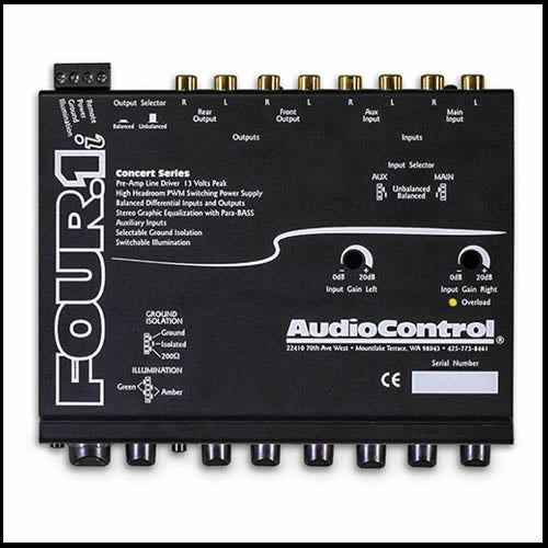 AUDIO CONTROL Four.1i