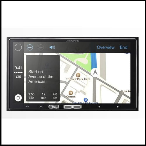 ALPINE iLX-107 Receiver with Wireless