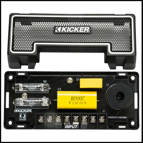 "KICKER QS Series 6.75"" Coaxials"