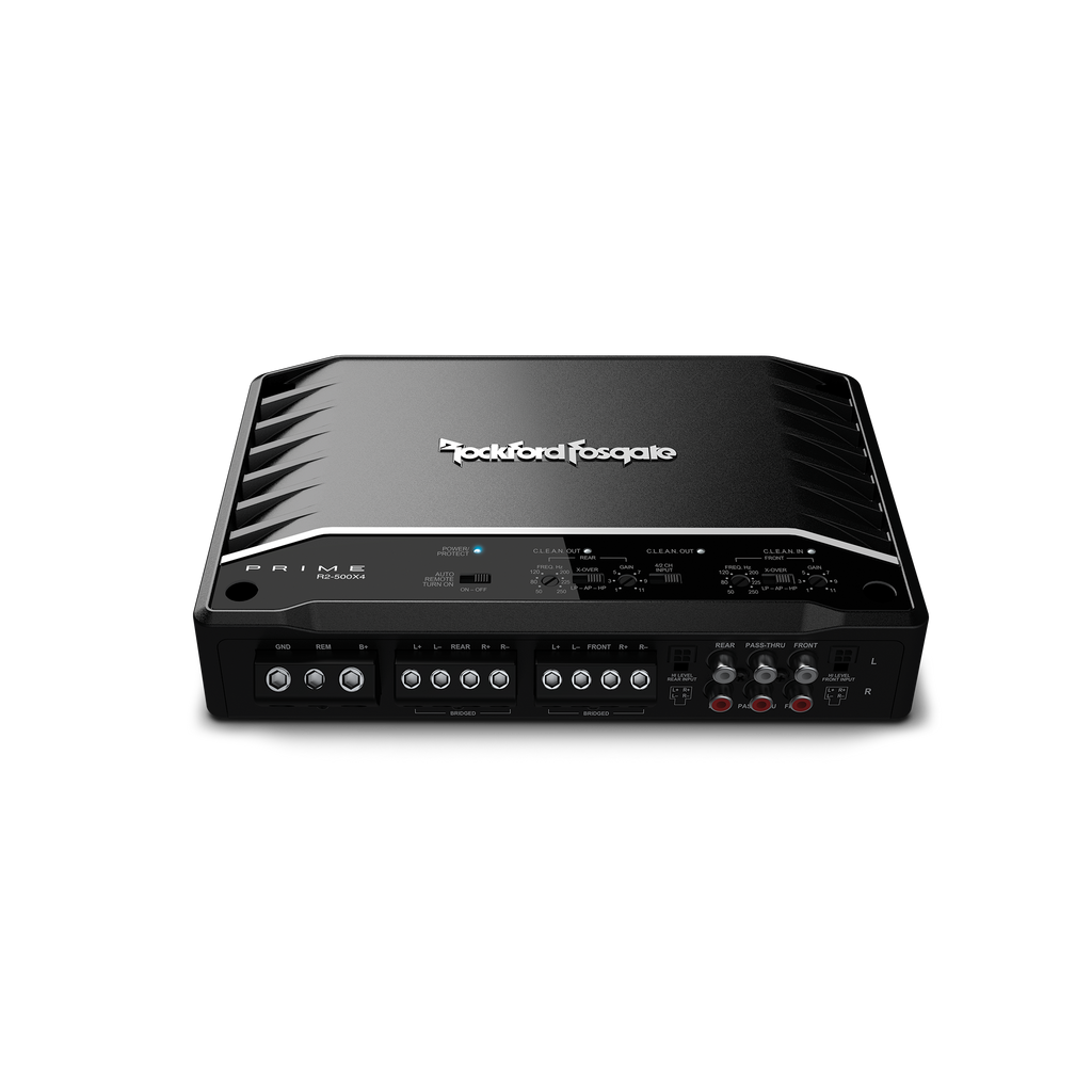 Prime 500 Watt 4-Channel Amplifier R2-500X4