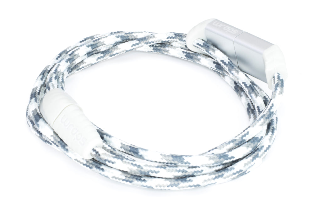 Wraps Lightening Cable Snow - Anti Tangle Charge
