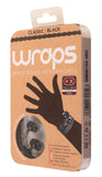Wraps Classic Black - Anti Tangle Headphone Packaging