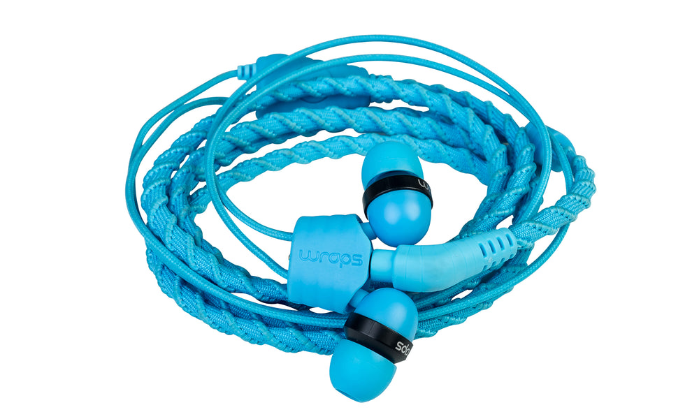 Wraps Talk Lagoon - Anti Tangle Headphone