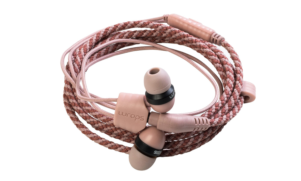Wraps Limited Edition Berry - Anti Tangle Headphone
