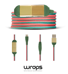 WRAPS Limited Edition USBC-USB Charge Cable