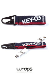 WRAPS Clip & Go Keyring Multi Cable
