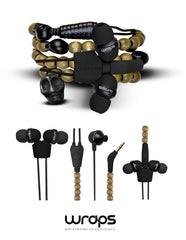 WRAPS Limited Edition In-ear Headphones with Microphone
