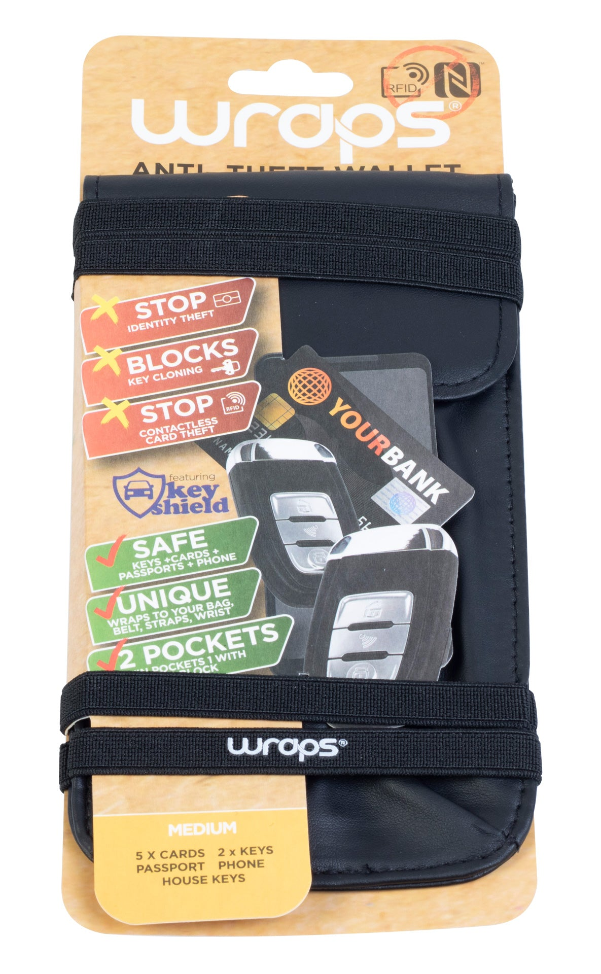Wraps RFID Wallet Medium