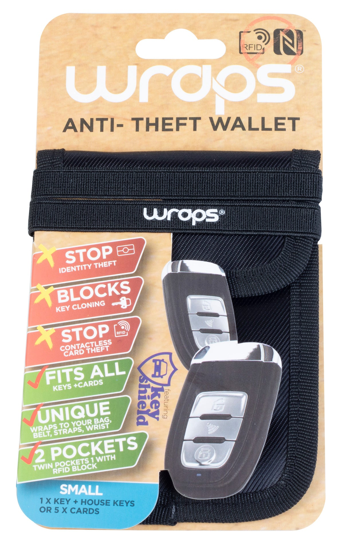 Wraps RFID Wallet Small