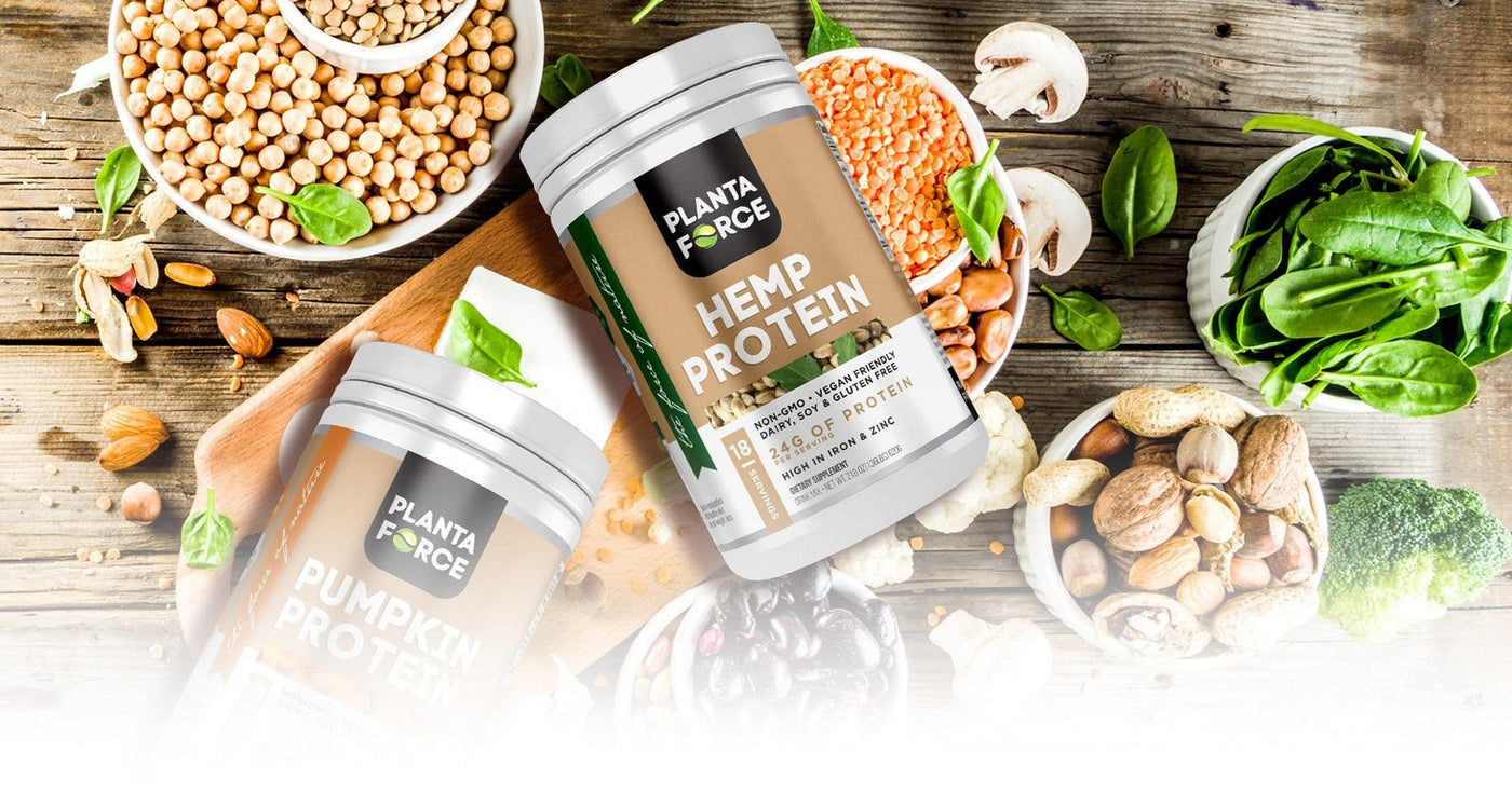 Plant Based Supplements - Planta Force