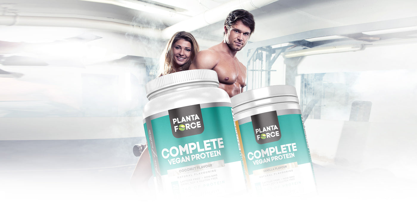 Complete Vegan Protein Supplements - Planta Force