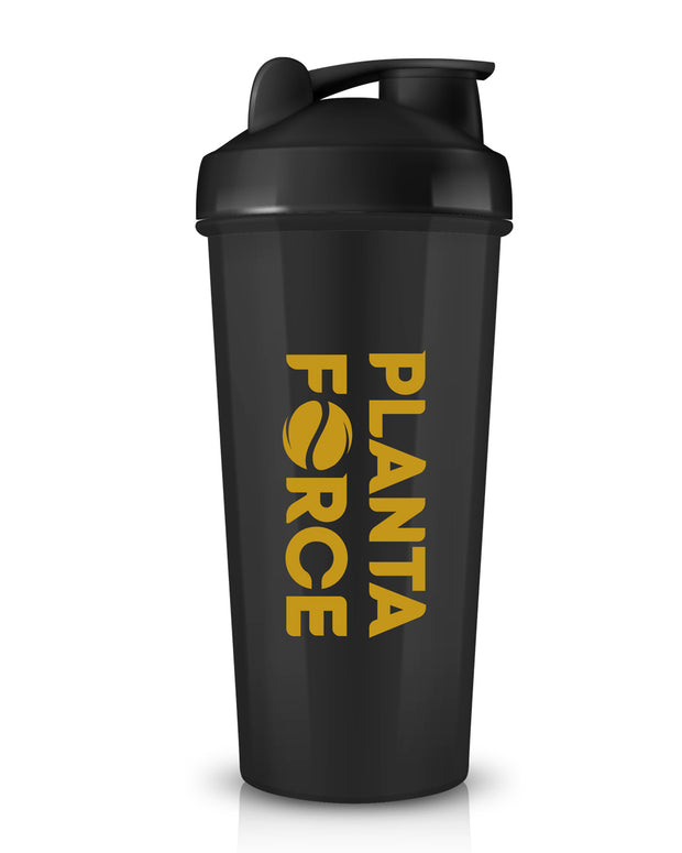 STAINLESS STEEL PROTEIN SHAKER (Black)