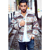 Men's Yathra White Jacket