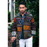 Men's Yathra Jacket ( blue, orange, green , yellow)