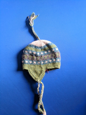 Cotton Hat with Ear Flap