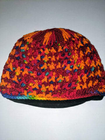 Wool Hat ( orange)