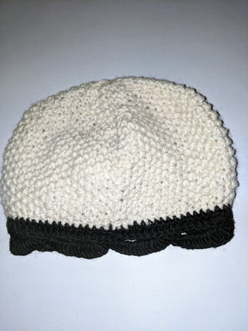Wool Hat - Black & White