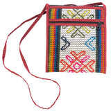 Handwoven in Bhutan :Yathra Classy Passport Bag