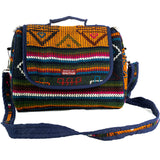 Handwoven in Bhutan: Shoulder Bag and Computer Sleeve