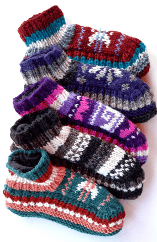 Wool Slipper in Various Colors