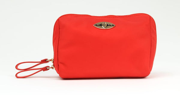 Zina Cosmetics Bag - Red