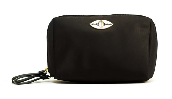 Zina Cosmetics Bag - Black