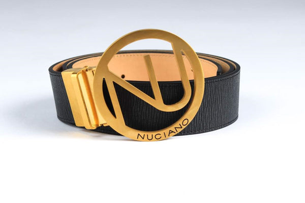 Men's Reversible Leather Belt - Black/Natural