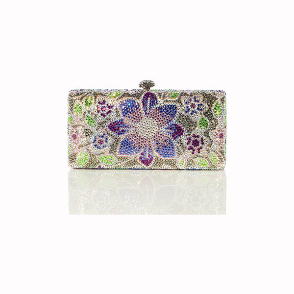 Lillies Clutch - Nuciano Handbags