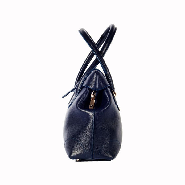 Manuela Handbag in Pebble Grain Leather - Nuciano Handbags