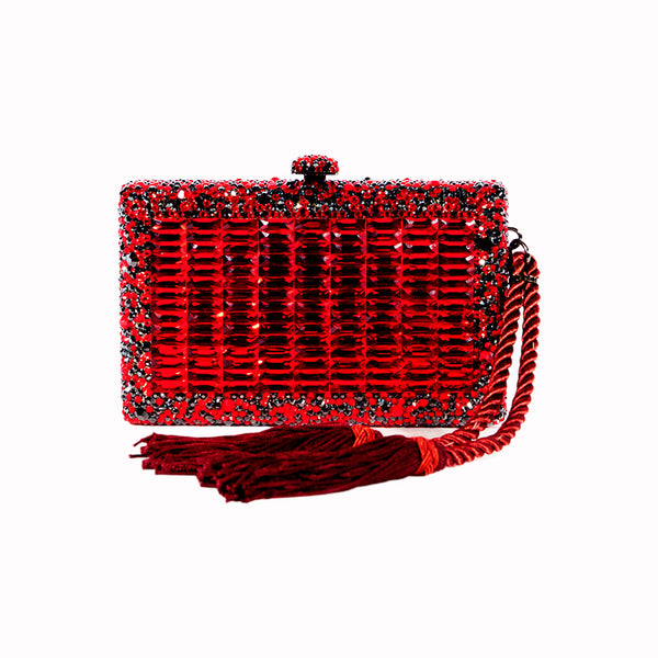 RUBBIE CLUTCH - Nuciano Handbags