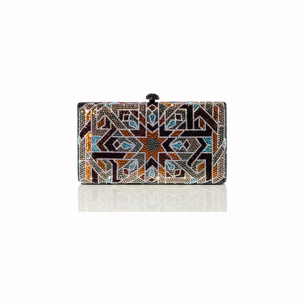 Seattle Autumn Clutch - Nuciano Handbags