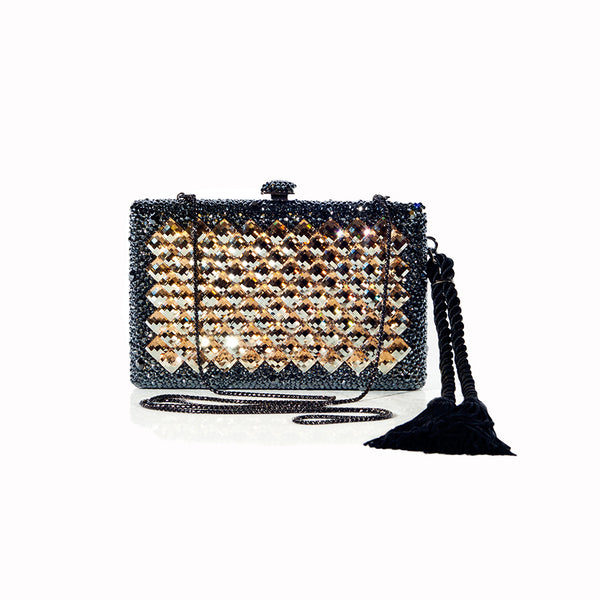 Tinsel Clutch - Nuciano Handbags