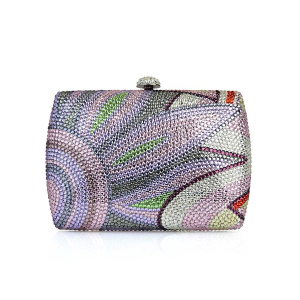 Peacock Clutch - Nuciano Handbags