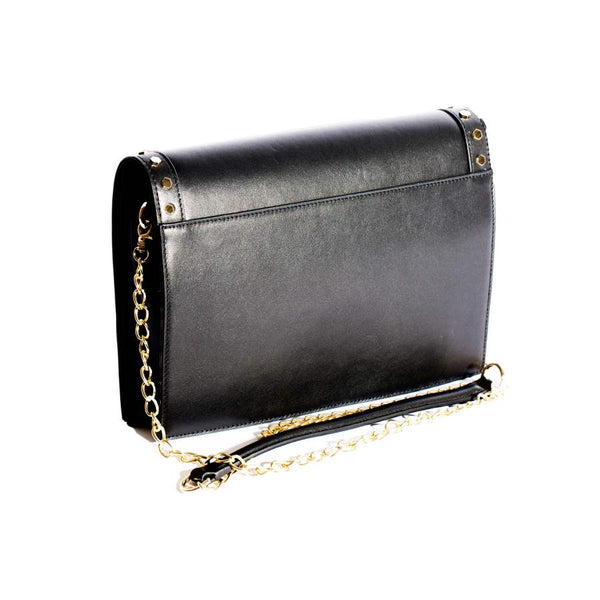 RAFAELA HANDBAG IN Black NAPPA LEATHER