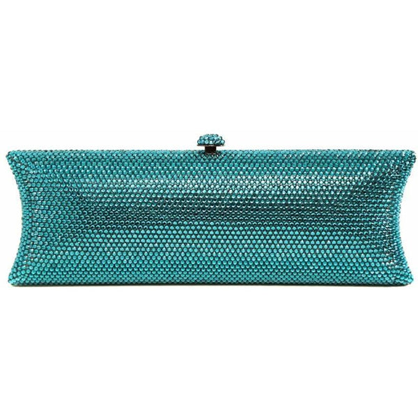 Blue Concave Clutch