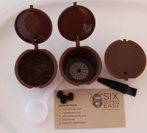 Reusable Coffee Capsules (Nespresso or Dolce Gusto)