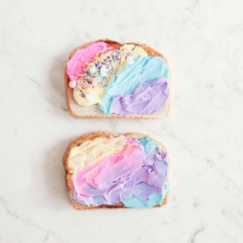 Manuka Honey Unicorn Toast Creations